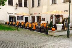 Restaurace CP1 Café & Wine Bar s letní zahrádkou v Praze 1