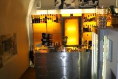 Fotografie po vstoupení do pražské restaurace a vinného baru CP1 v Praze 1