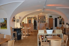 View on premises suitable for corporate parties in Prague restaurant and wine bar CP1
