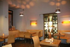 Inner spaces CP1 Café & Wine Bar in Prague suitable for romantic evening in Prague 1