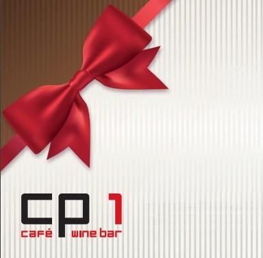 Vánoční dárkový poukaz do restaurace a vinného baru CP1 v Praze 1