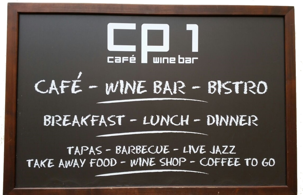 Restaurant and wine bar CP1 in Prague 1