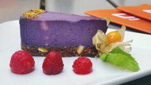 Cheesecake v restauraci v Praze v Cp1Cafe